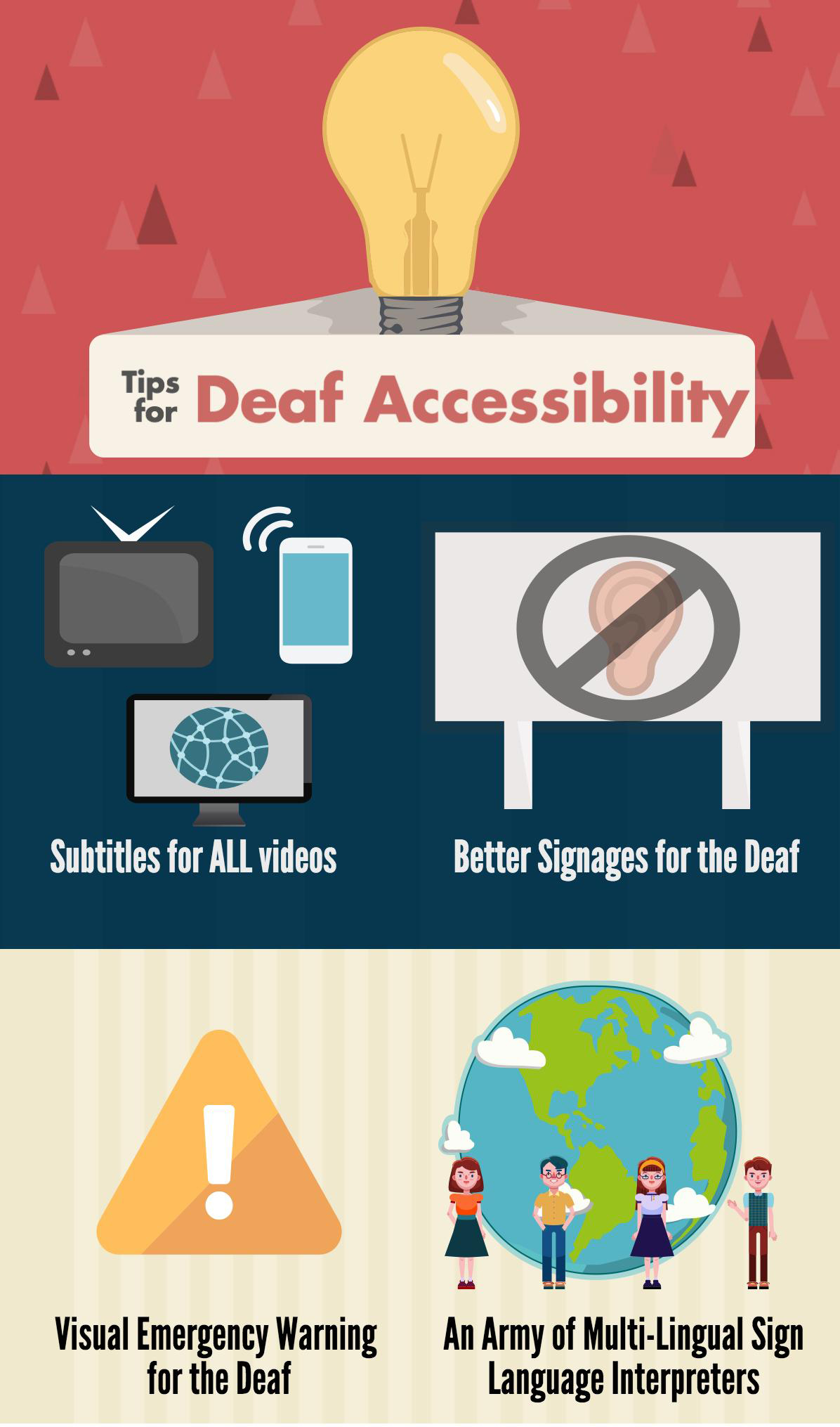 Suggestions for Better Deaf Accessibility at Future Expos